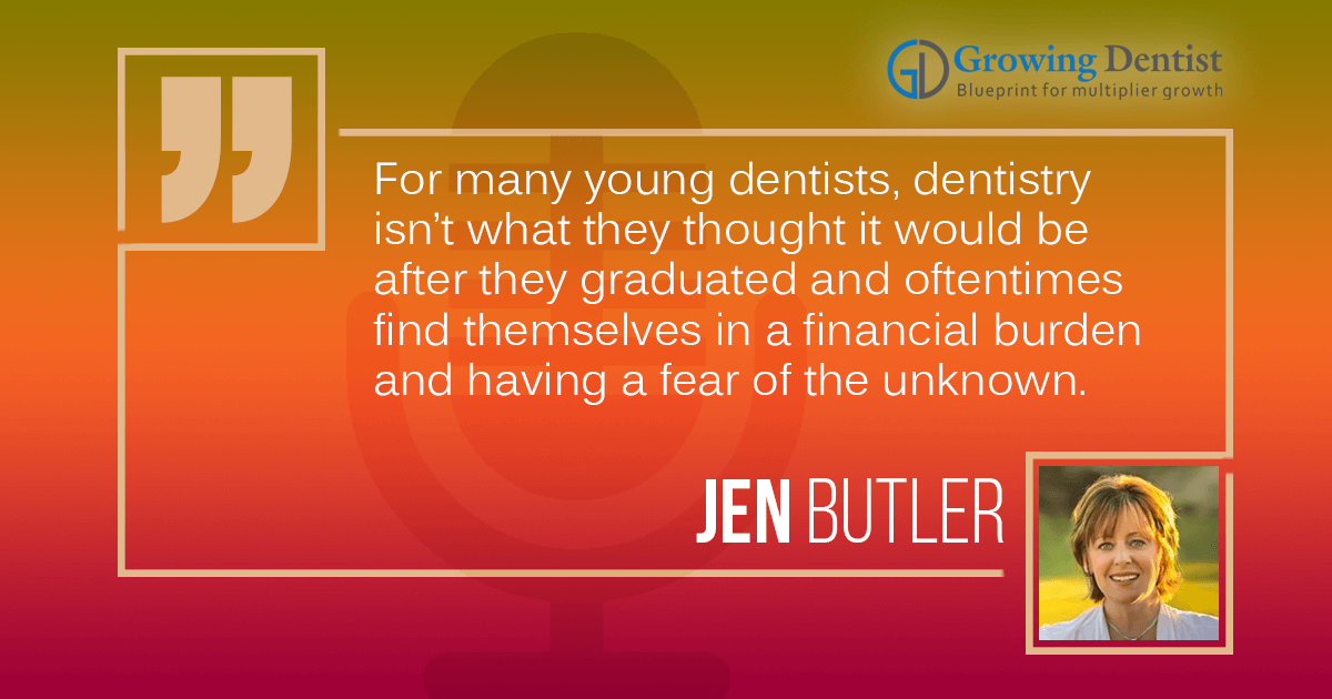 Getting through the dread of dentistry to finding the passion again | Jen Butler
