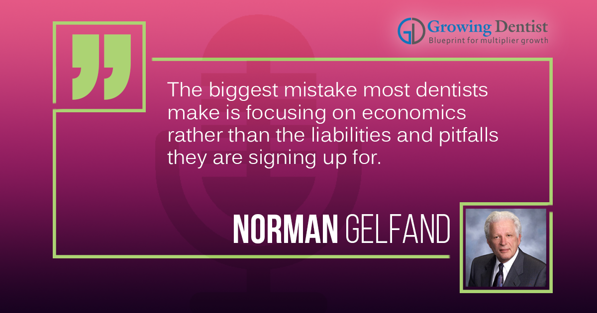 Educating Dentists on Real Estate and Leasing | Norman Gelfand