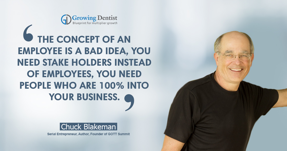 Chuck Blakeman, Dental Nugget 1