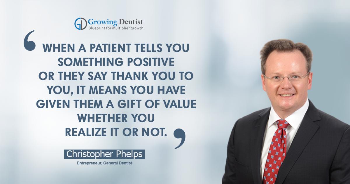 Dr. Christopher Phelps, Dental Nugget 1