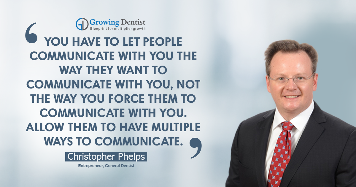 Dr. Christopher Phelps, Dental Nugget 2