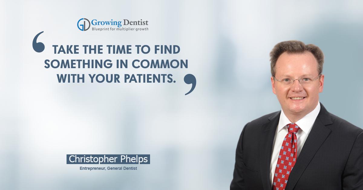 Dr. Christopher Phelps, Dental Nugget 4