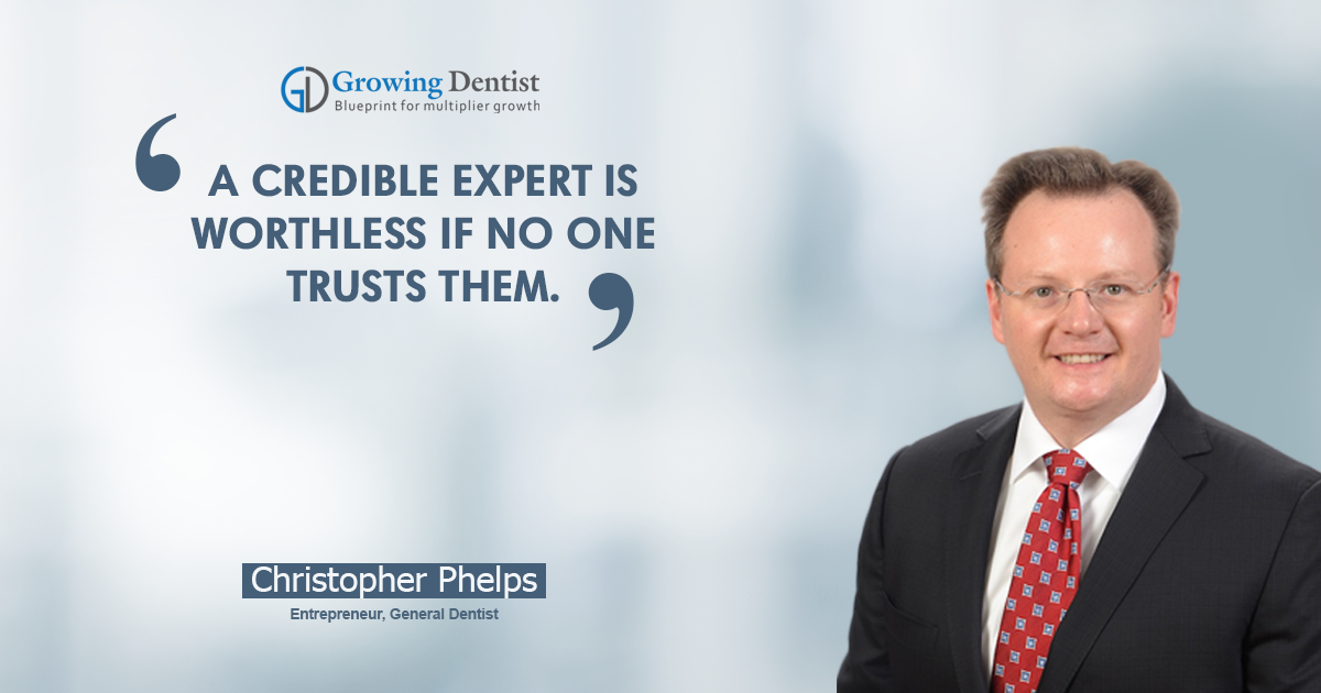 Dr. Christopher Phelps, Dental Nugget 5