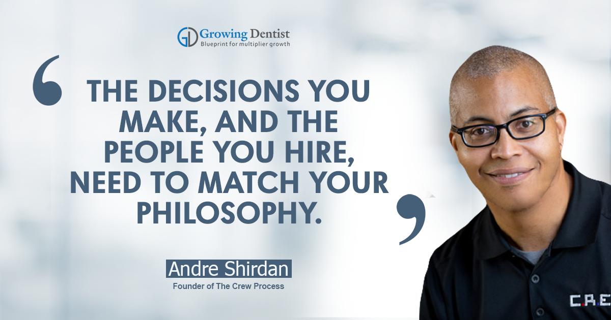 Andre Shirdan, Dental Nugget 3