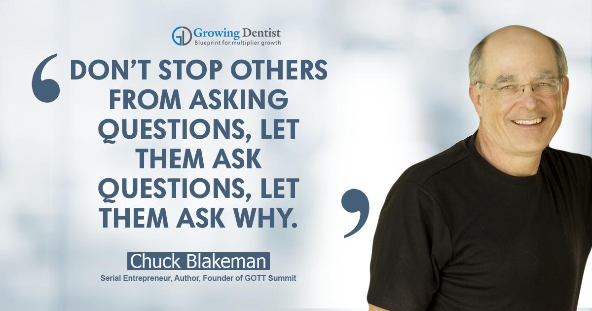 Chuck Blakeman, Dental Nugget