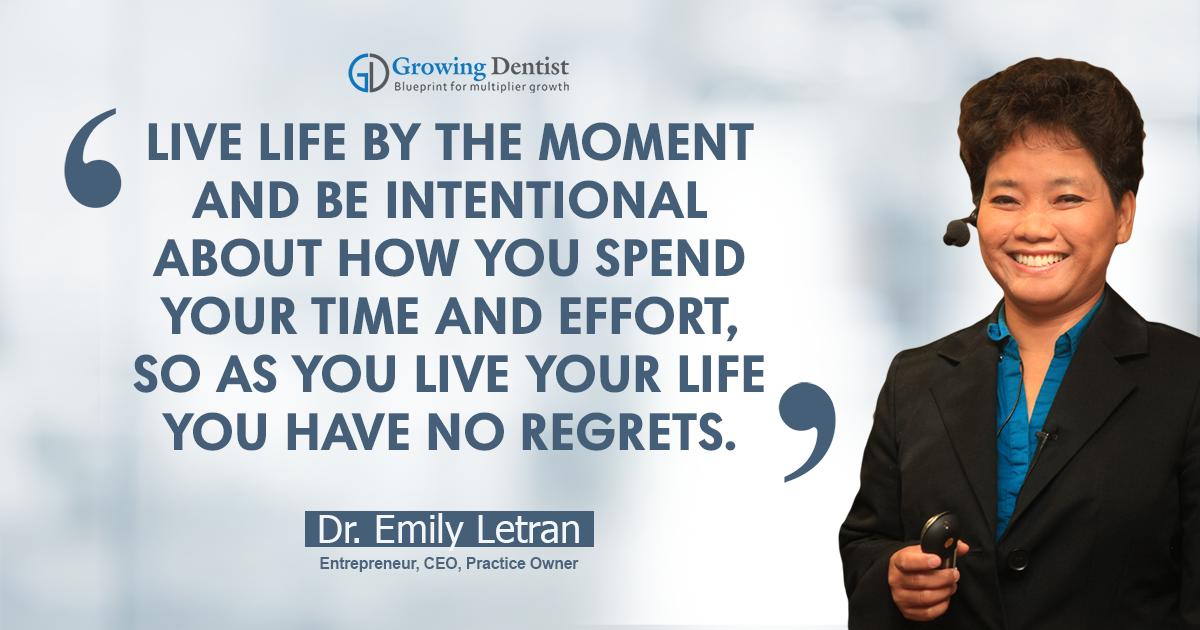 Dr. Emily Letran, Dental Nugget 1