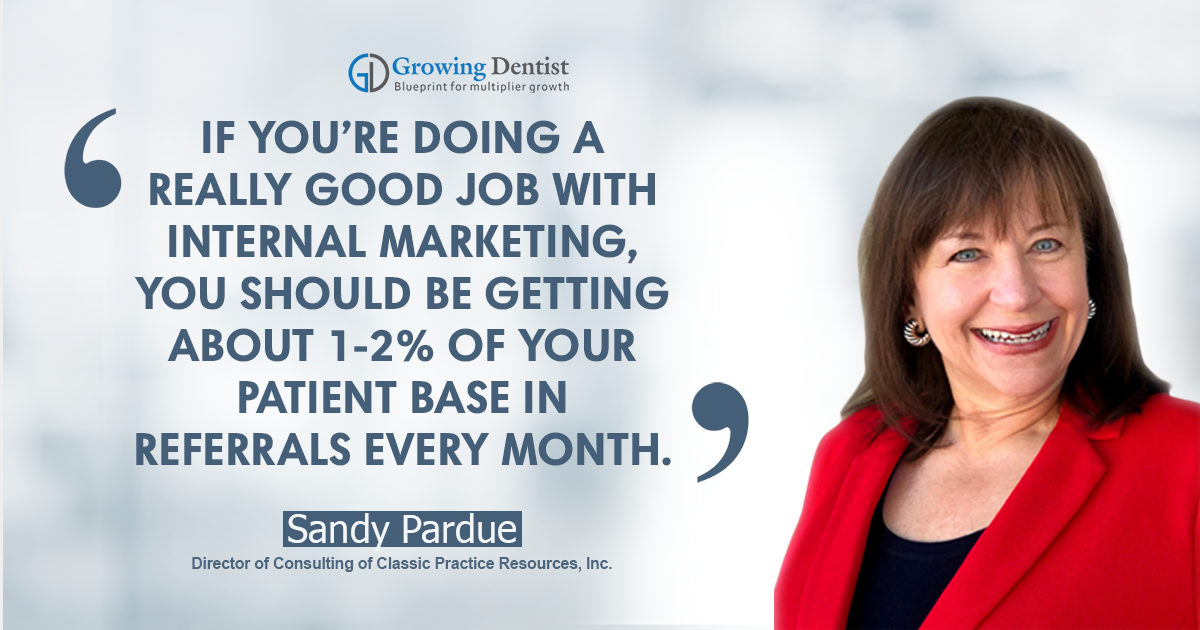 Sandy Pardue, Dental Nugget 1