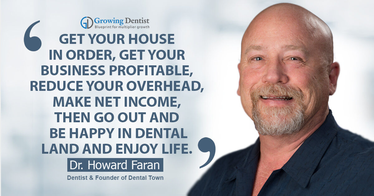 Uncomplicating your business for a successful dental practice with Dr. Howard Faran
