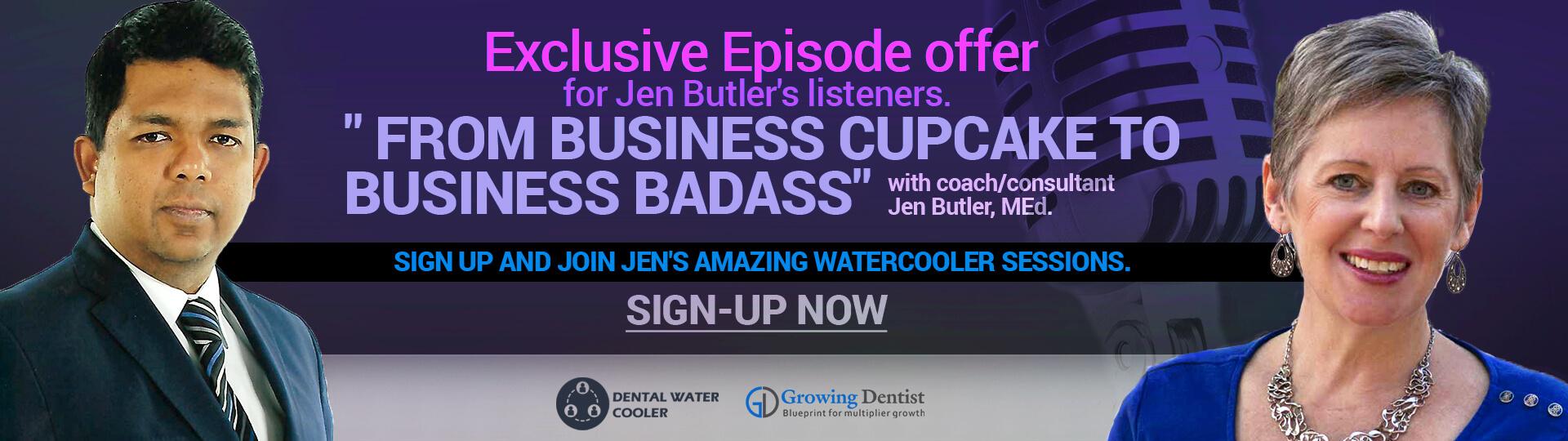 Jen Butler Dental Watercooler